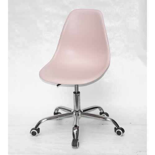 Купить Кресло офисное Nik (Ник) хромированная база, пластик розовый (63)