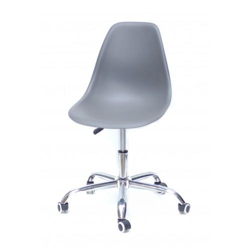 Купить Кресло офисное Nik (Ник) хромированная база, пластик серый (21)