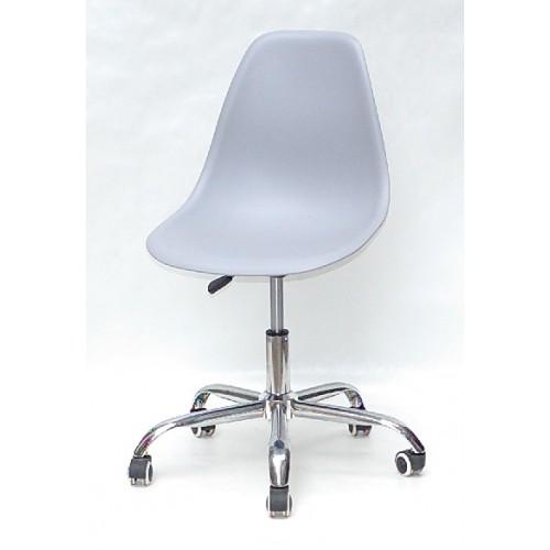 Купить Кресло офисное Nik (Ник) хромированная база, пластик серый (35)