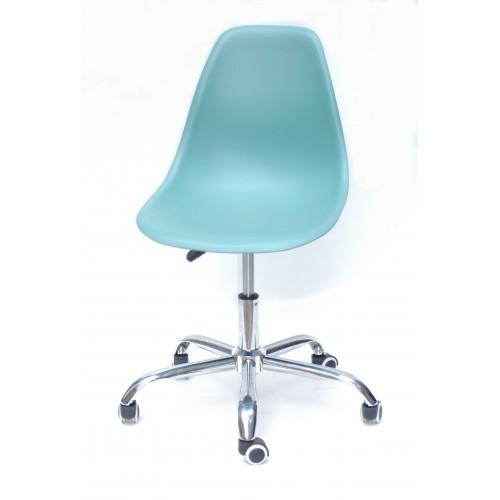 Купить Кресло офисное Nik (Ник) хромированная база, пластик зеленый (40)