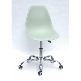 Кресло офисное Nik (Ник) хромированная база, пластик зеленый (45)