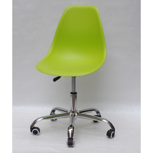 Купить Кресло офисное Nik (Ник) хромированная база, пластик зеленый (48)