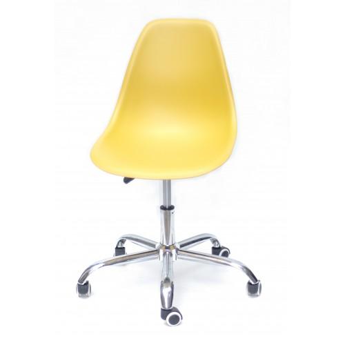 Купить Кресло офисное Nik (Ник) хромированная база, пластик желтый (11)