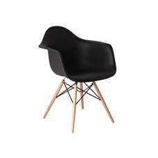 Кресло Прайз черный, ольха
