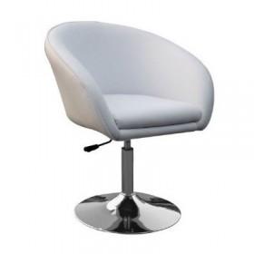 Кресло Мурат белое, экокожа