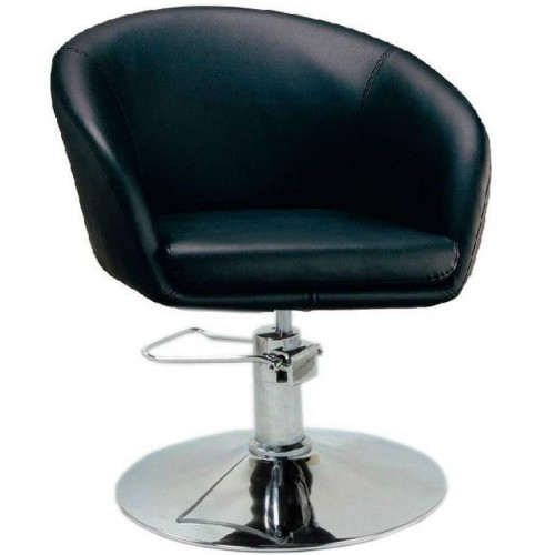 Купить Кресло Мурат P парикмахерское черное, экокожа
