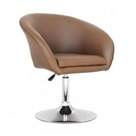 Кресло Мурат коричневое, экокожа