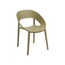 Кресло Шелл зеленый чай