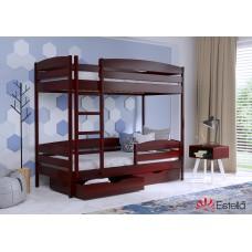 Кровать Дуэт Плюс 800х1900 двухъярусная