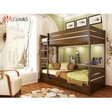 Кровать Дуэт 800х1900 двухъярусная
