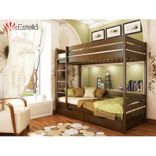 Купить Кровать Дуэт 800х1900 двухъярусная