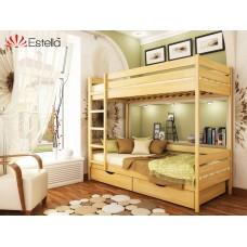 Кровать Дуэт 900х2000 двухъярусная