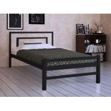 Кровать металлическая Брио-2 с изножьем