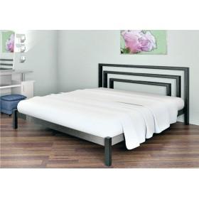 Кровать металлическая Брио-1 без изножья