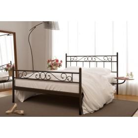 Кровать металлическая Эсмеральда 2 с изножьем