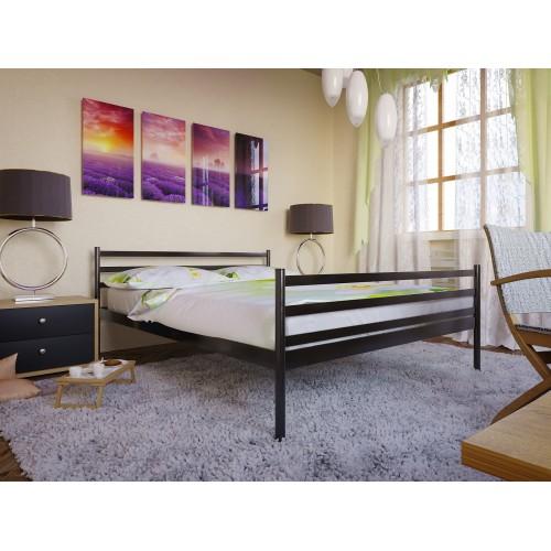 Купить Кровать металлическая Флай-2 с изножьем
