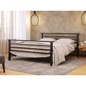 Кровать металлическая Лекс-2 с изножьем