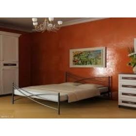 Кровать металлическая Лиана-2 с изножьем