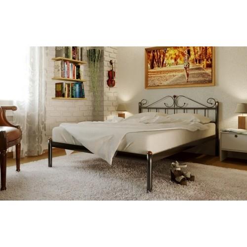 Купить Кровать металлическая Розанна без изножья