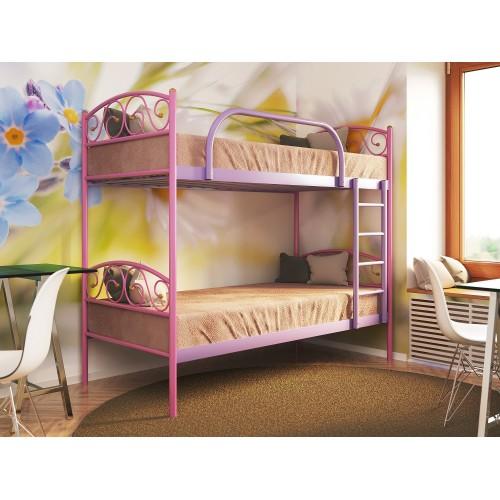 Купить Кровать металлическая Верона Дуо двухъярусная для детей
