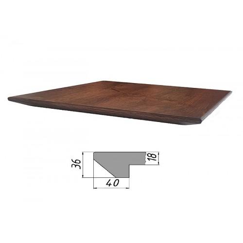 Купить Столешница из многослойной фанеры, прямоугольная, обратный скос
