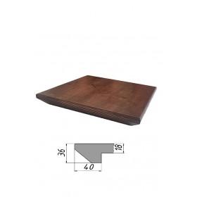 Столешница из многослойной фанеры, квадратная, обратный скос