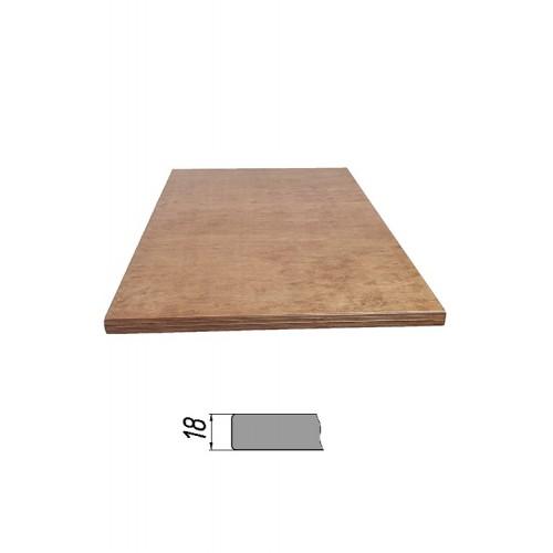 Купить Столешница из многослойной фанеры, прямоугольная 18 мм