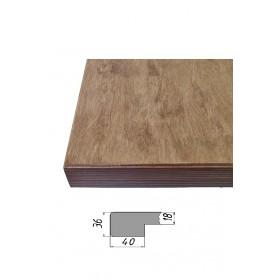 Столешница из многослойной фанеры, прямоугольная 36 мм