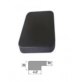 Столешница из многослойной фанеры, прямоугольная, закругленная 36 мм