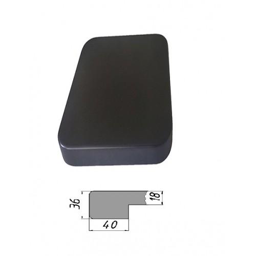 Купить Столешница из многослойной фанеры, прямоугольная, закругленная 36 мм