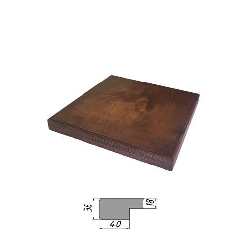 Купить Столешница из многослойной фанеры, квадратная 36 мм