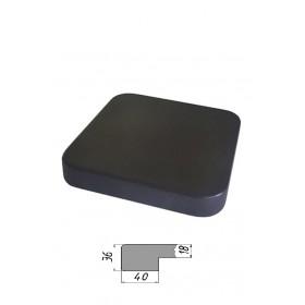 Столешница из многослойной фанеры, квадратная, закругленная 36 мм