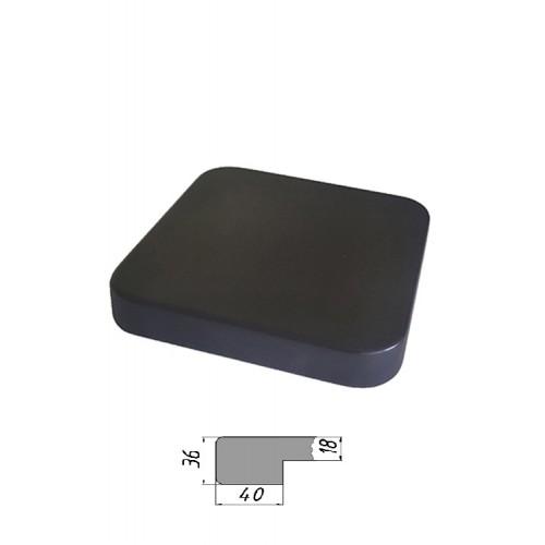 Купить Столешница из многослойной фанеры, квадратная, закругленная 36 мм