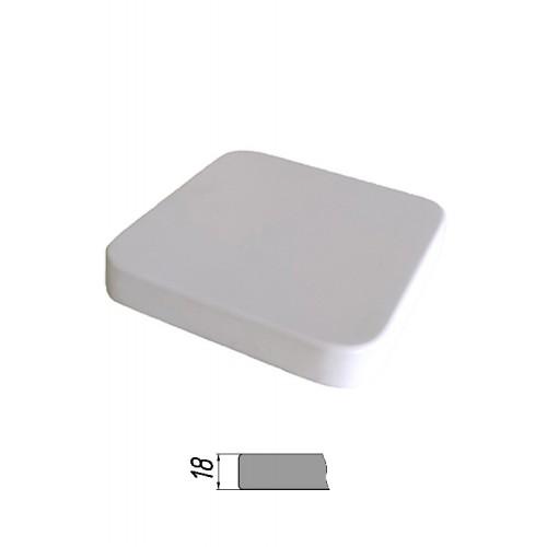 Купить Столешница из многослойной фанеры, квадратная, закругленная 18 мм
