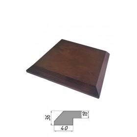 Столешница из многослойной фанеры, квадратная, скос