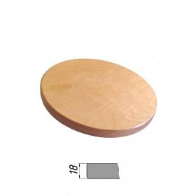 Столешница из многослойной фанеры, круглая, толщина 18 мм