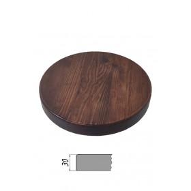 Столешница из многослойной фанеры, круглая, толщина 30 мм