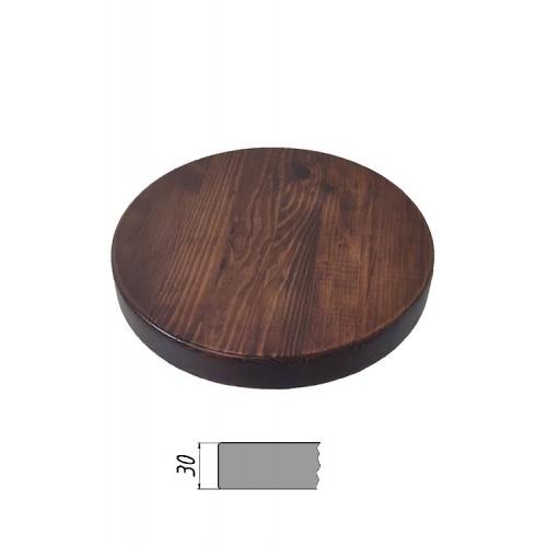 Купить Столешница из многослойной фанеры, круглая, толщина 30 мм