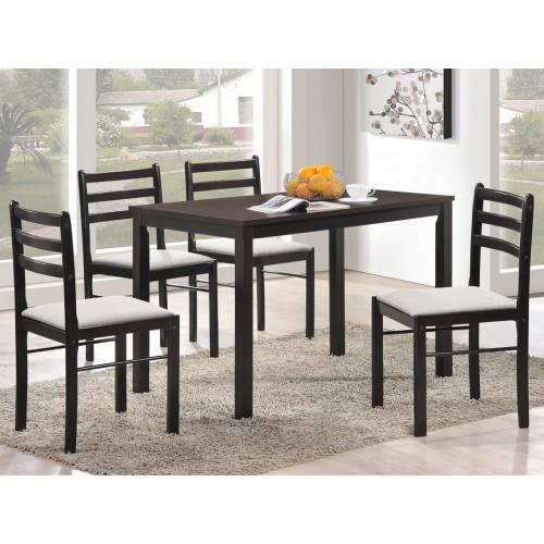 Купить Комплект Фиеста стол + 4 стула венге