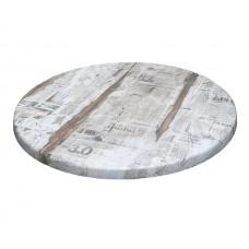 Столешница круглая Topalit d700 мм