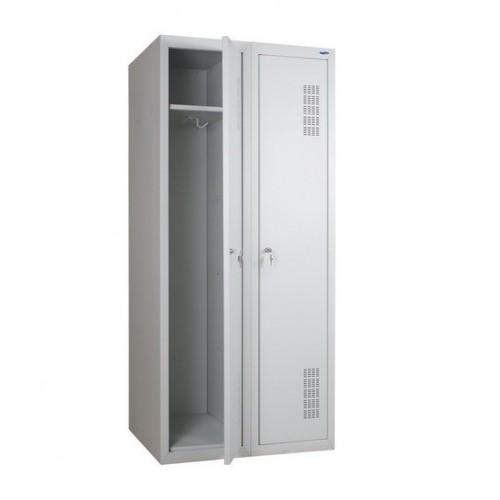 Купить Шкаф для раздевалки металлический двойной (800 х 500 х 1800h)