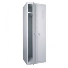 Шкаф для раздевалки металлический двойной (600 х 500 х 1800h)