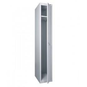 Шкаф для раздевалки металлический одинарный (300 х 500 х 1800h)