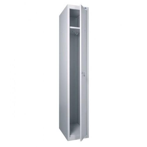 Купить Шкаф для раздевалки металлический одинарный (300 х 500 х 1800h)