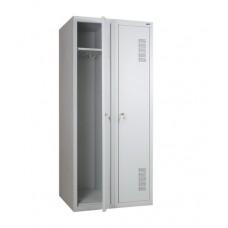 Шкаф для раздевалки металлический двойной (800 х 500 х 1800h)