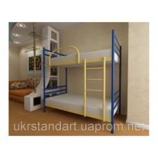 Кровать двухъярусная Флай Дуо металлическая