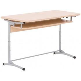 Стол ученический E-172 A ALU