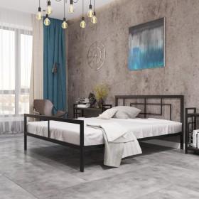 Кровать металлическая Квадро
