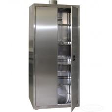 Шкаф из нержавеющей стали для хранения химреактивов ШХРНж-1