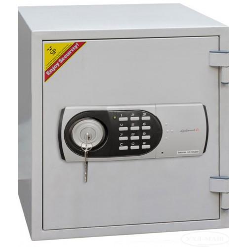 Купить Сейф огнестойкий с электронным замком и ключом 125EК